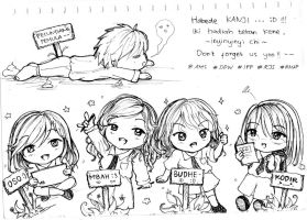HBD #from your friends :) by H-Kanaki