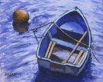 Buoy And Boat by mbeckett