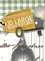 10 large scan textures by Kiho-chan