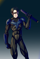 Nightwing by Mercvtio
