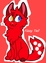 Fizzy tail (Not Warriors) by Spudzzo
