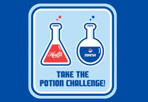 The Potion Challenge by Winter-artwork