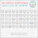 Emoticons: Circles by apparate