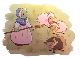 Shepherdess by Emaberry