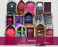 Doors PNGs by Bellacrix