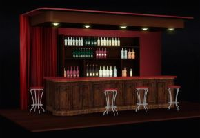 Red Bar by deexie