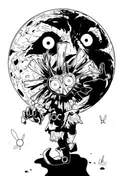 Skull Kid - Majora's Mask by DynamixINK