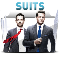 Suits - Folder Icon by RST-420