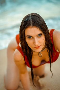 Wet Baywatch by piperblush
