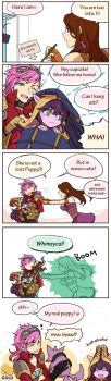 Vi/cait/lulu Cartoon by 2gold