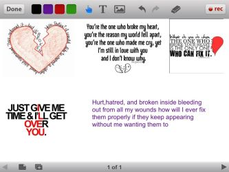 Broken and hurt and stupid and worthless by GIANELLA12