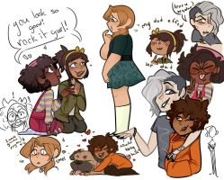 kiddos by AMadKat
