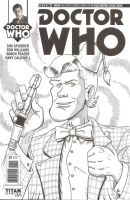 Doctor Who sketch cover - 11 by vonfolger