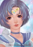 Sailor Mercury by Archie-The-RedCat