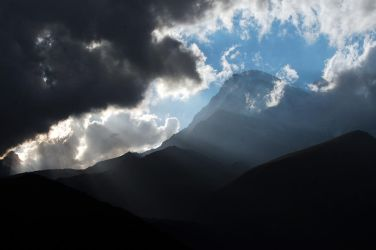 Kazbegi Sunset by LordXar