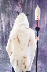 Princess Mononoke-Back of cloak by browniewaseaten
