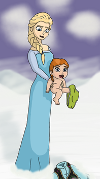 Frozen: Elsa's Age Power (Again) by DKTF