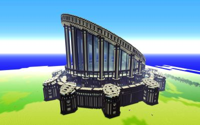 Minecraft Build 1 - The Temple of Insight by haikuo