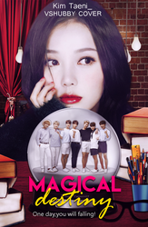 Magical Destiny[BTS]Wattpad Cover by vshubby