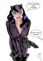 Catwoman you dropped your thingie_color by vitorart
