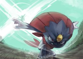 Fav Ice Type - Weavile