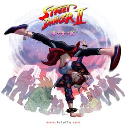 Chun Li the Street Dancer by ArtofTu