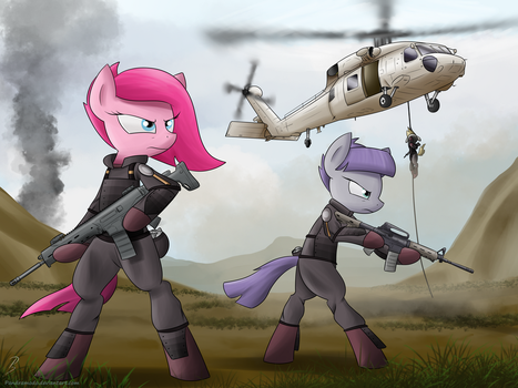Allied forces by Pandramodo