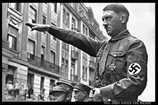 Drop pants for hitler by MorbidObsession