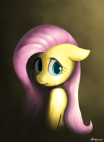 Sad Fluttershy by doqwor