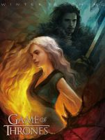 Game Of Thrones fan art by ouongchu00