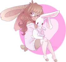 Bunny (gift) by Emily-826