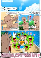 Bit and Bytes (English) - Aura y Queton (pag 1/3) by Color-Arcano