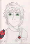 Splash of Colour: Hiccup- HTTYD 2 by TheGirlOnXboxLive