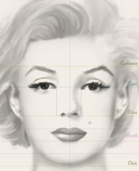 How to draw a face by StephanieVALENTIN