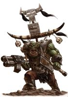 ork warboss by albe75