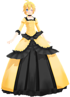 Tda Lenka Kagamine Royal [DL] by xXMofuMofuXx