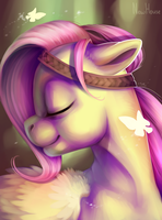 Fluttershy (MLP Fanart) by New-House