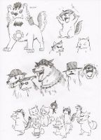 One piece of dogs 2 by jawazcript