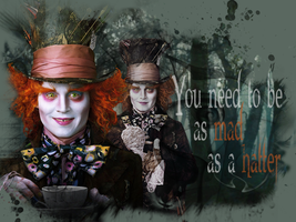 The Mad Hatter by MelusineMcEwan