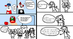 Homestar Runner: Marzipan's Captured page 3 and 4 by Luqmandeviantart2000