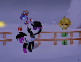 pony town (night) by Serri765