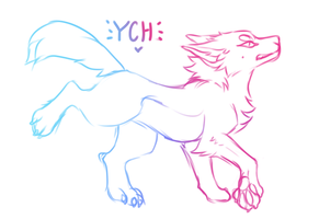 Canine YCH - CLOSED by Snow--Chan