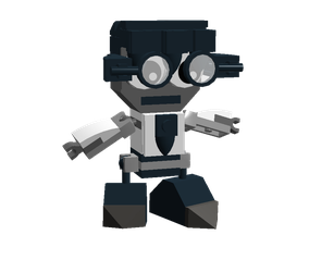 LEGO Fairly Odd Mixes: Denzel Quincy Crocker by Luqmandeviantart2000
