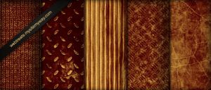 Rusted Red Industrial Textures by WebTreatsETC