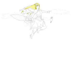 Queen Valkyrie Jennifer (Preview) by JenniferLee1991