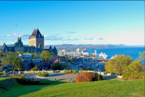 Quebec City Wonder by Spid4