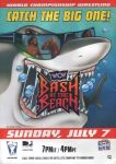 WCW bash at the beach 95 poster by leonrock84