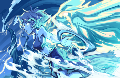 The Water Witch by BatArchaic