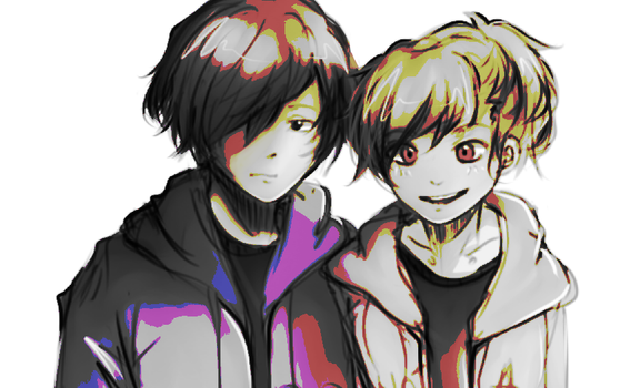 P3 protags by Mystic-Wish123