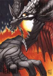 Deathwing COPIC Commission by Reabault